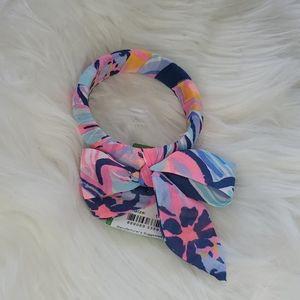 Lily Pulitzer Chiffon Wrapped Bangle 1 size